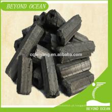 2016 alta qualidade hardwood sawdust briquete de carvão para churrasco para venda