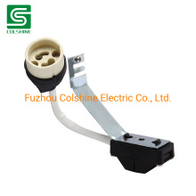 GU10 Connector Ceramic Lamp Holder with Terminal Block and Bracket