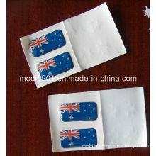 Decorative 3D Dome Label Brand OEM Supplier Clear Epoxy Adhesive Sticker Label