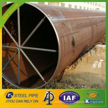 API 5L WELD tubería / tubo de acero al carbono para gas natural y aceite