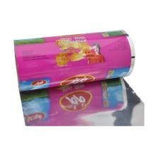 Filme de rolo das microplaquetas de batata / filme de empacotamento das microplaquetas fritadas / filme de rolo dos petiscos
