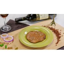 Filete de ternera en escabeche sazonado con pimienta negra