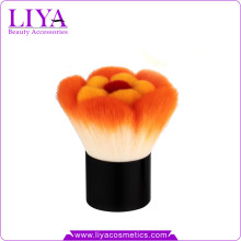 Beauty Colored Synthetic Flower Kabuki Brush With Sample Available