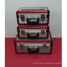 Hermosa caja de herramientas de aleación de aluminio de alto grado (con muchos tamaños)