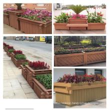 High quality wpc garden flower box wpc flower pot on sale