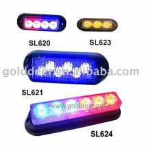 Emergencia advertencia rejilla luz montaje Auto Led de luz estroboscópica
