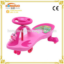 Diseño divertido Baby Swing Car / kick scooter