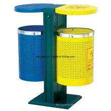 Compartimiento de basura clasificada del basurero (DL40)