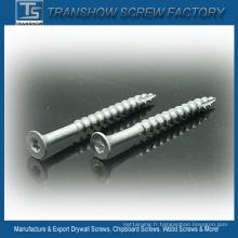 3.9X50 Ruspert Coated Silver Decking Screw