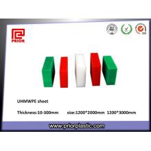 Fabricants de feuille d'UHMWPE de 100% en plastique