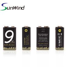 Substituição de instrumento musical de bateria USB de 9V versão 1000mah