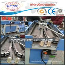 Única extrusora de parafuso para a tubulação ondulada plástica flexível dos tubos da corrugação que faz a máquina