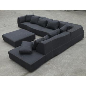 모듈 형 단면 패브릭 BB Italia Bend Sofa Reproduction