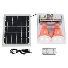 Sistema de luz de emergencia solar recargable led multifunción