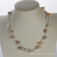 Snh Natural Real Pearl Necklace Jewelry Wholesale