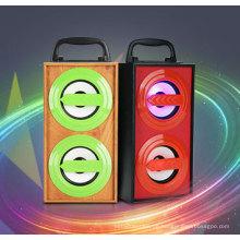 Karaoke-Laufkatzen-Sprecher-Mischerverstärker der besten Qualität 10W Berufs mit USB SD bluetooth FM