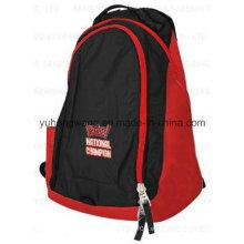 Forme la mochila doble del hombro, mochila, bolso de escuela