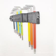 9pcs colorful hex Allen key set