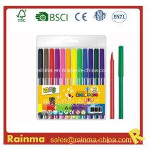 Caneta de feltro de cor de água para artigos de papelaria da escola