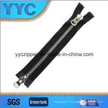 8 # Zweiweg Open Slider Metall Zipper für Taschen