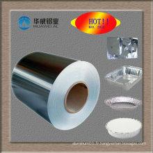 Rouleau de papier d'aluminium pour ménage en Chine pour la cuisine et la cuisson des aliments