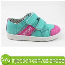 Chaussures en toile colorées pour bébé / enfant avec bande magnétique