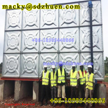 High quality 1220x1220mm galvanized steel water tank factory for 18 years
