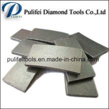Lame de coupe segment de diamant pour les outils de diamant de pierre de taille de grès