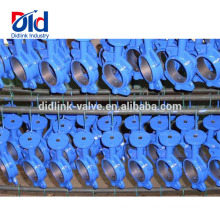 50mm 80mm Handle Replacement Ductile Iron Dimension 18 Flowserve Wafer Type Butterfly Valve