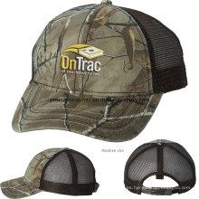 Gorras al aire libre de malla con logotipo personalizado