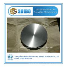 Fabriqué en usine à haute teneur en molybdène avec disque rond et cercle avec haute qualité