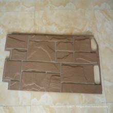 Moule d'injection plastique de panneaux muraux en pierre en plastique