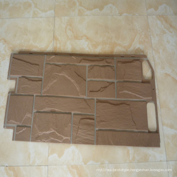 plastic stone wall panels plastic injection mould
