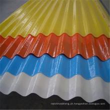 Placa de Onda transparente FRP 2mm 3mm 4mm 5mm 6mm Folha de Plástico Corrugado Telhado Folha de Impermeabilização