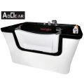 Aokeliya new breed high quality acrylic big luxury indoor pet dog grooming bath tubs