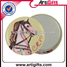 Animal design magnetic metal pin button badge