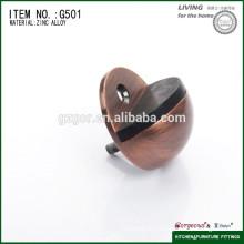 circle rubber door stop and zinc alloy floor door stop