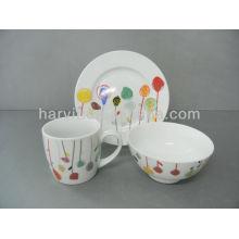 Ensembles de petit-déjeuner pour enfants Vaisselle en céramique