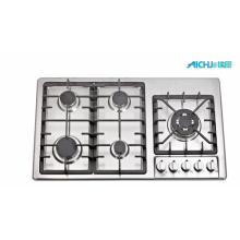 5 Burners Built-in Stove Gas Hob
