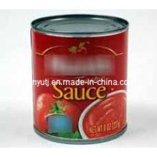 Sauce tomate en conserve haute qualité