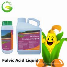Fertilizante orgánico del fertilizante líquido negro Ácido húmico