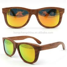 óculos de sol de madeira multicoloridos óculos de sol de bambu coloridos óculos de sol de madeira multicoloridos óculos de sol de bambu coloridos