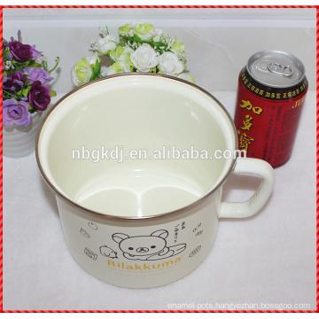 Factory direct customized enamel milk mug