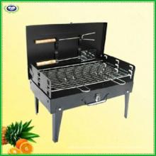Gril au charbon de bois pliable portatif pour les barbecues, les fêtes, le camping