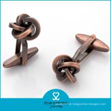 Abotoaduras de moda New Design exclusivo de bronze para homens (D-0032)