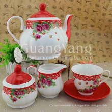 ЭКО-Дружественных Укомплектованный Чашки Эмаль Чайные Наборы
