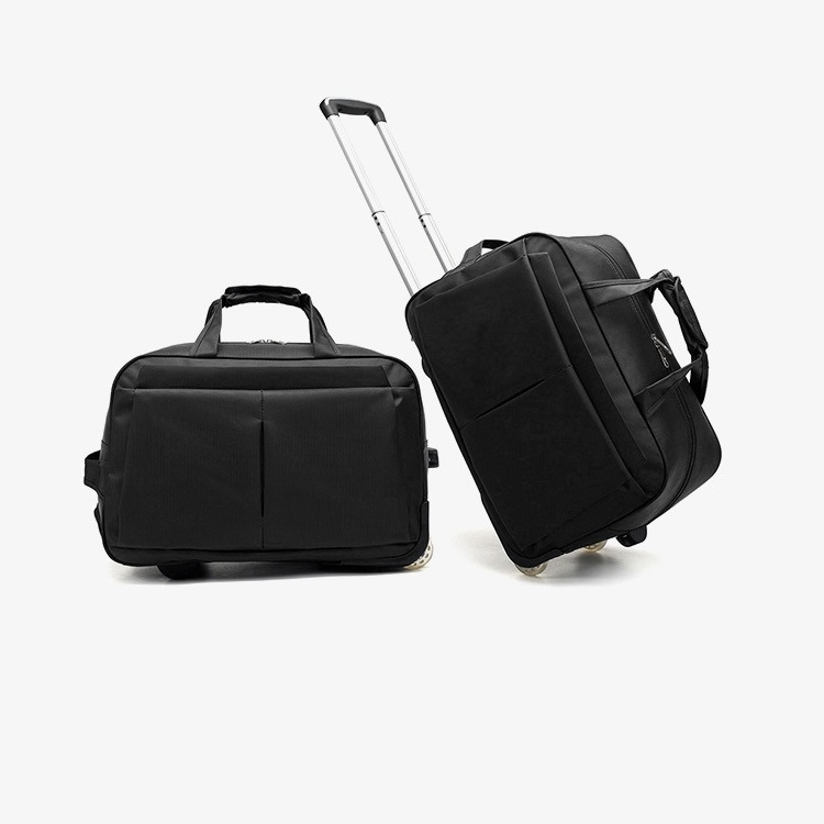 Man Hand Held Trolley Bag