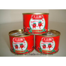 70g Canned Tomato Ketchuo with Easy Open Lid