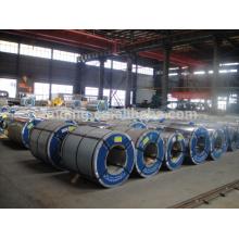 bobina de aço inoxidável revestido galvanizado / cor laminada (GI / GL / PPGI / PPGL) galvanizado