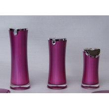Bouteille de lotion cosmétique acrylique